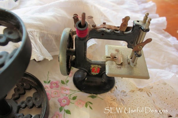 Antique Peter Pan sewing machine