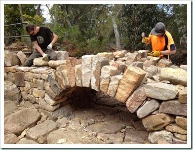 bridge stones