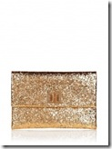 Anya Hindmarch Gold Glitter Clutch