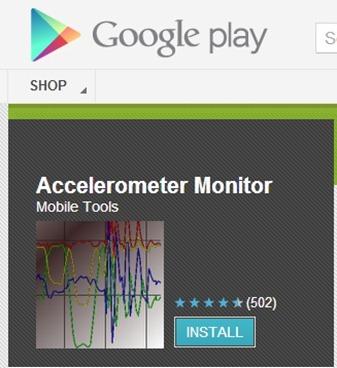 Phone Accelerometer
