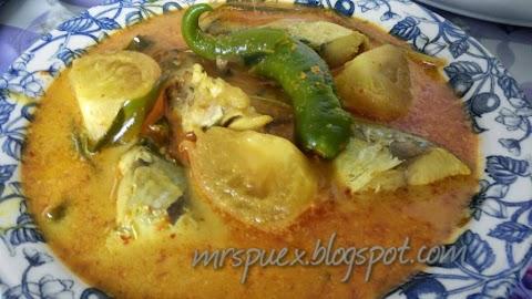 Resepi : ikan masak gulai lemak cili kering