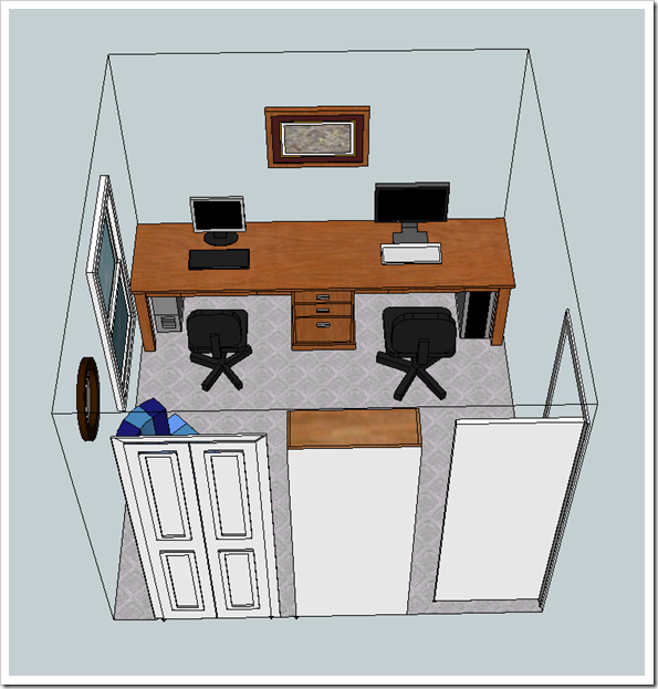 office 2 desk