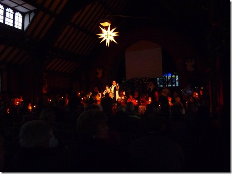 Carol Service at St Paul's Camberley