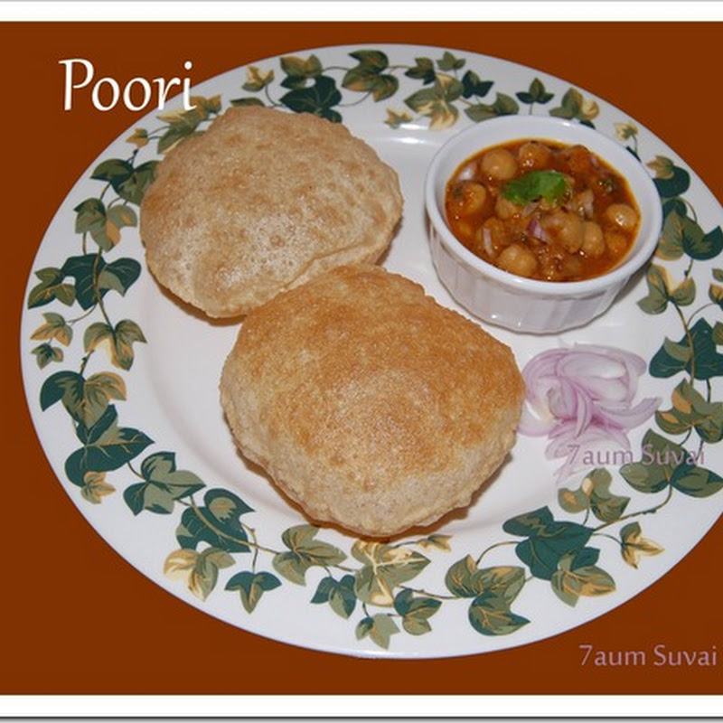 Poori and Potato masala with video