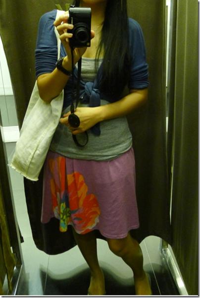 fav purple tube dress from Roxy