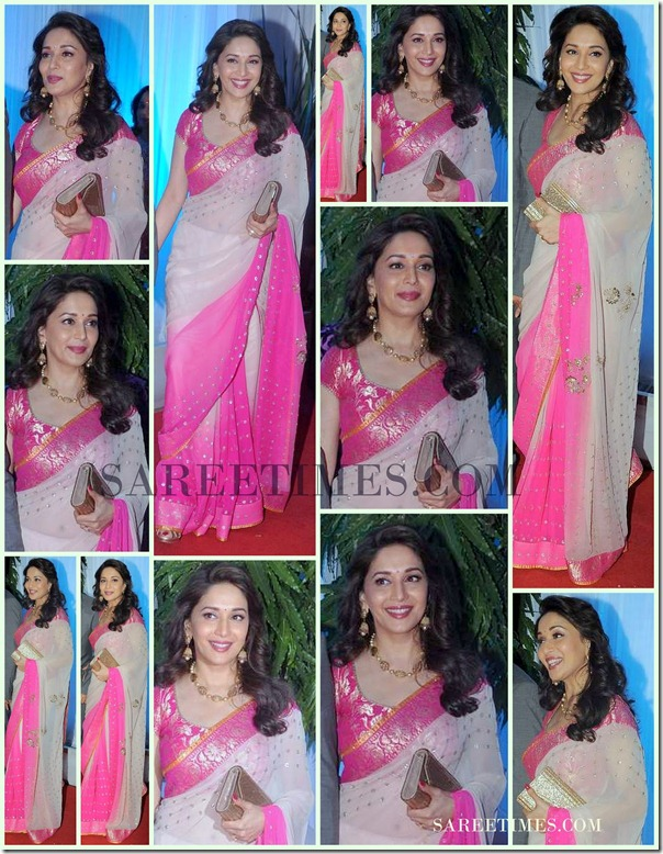 Esha-Deol-Wedding-Madhuri-Dixit-Saree-Collection