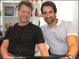 Ricardo Tapajó e Mario Warde Filho