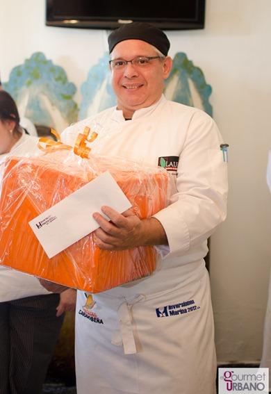 Carlos Guzmn Ganador Del 1er Concurso de comida Carabobea Fotgrafo: Luis E. Blanco