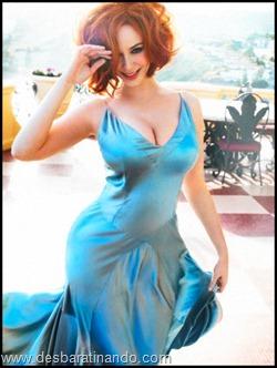 Christina Hendricks linda sensual sexy sedutora decote peito desbaratinando (9)