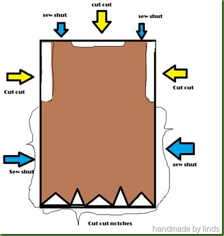 paper bag tunic