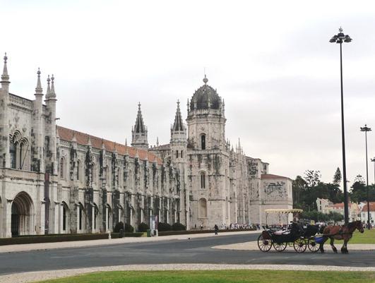 Portugal -mosteiro de santa maria de belem ou dos jeronimos - Glória Ishizaka
