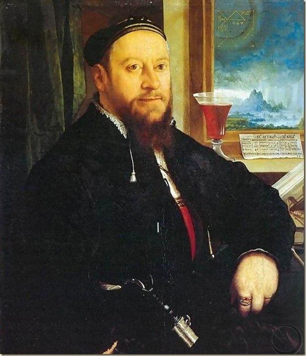 Christhoph Amberger, Portrait de Matheus Schwarz