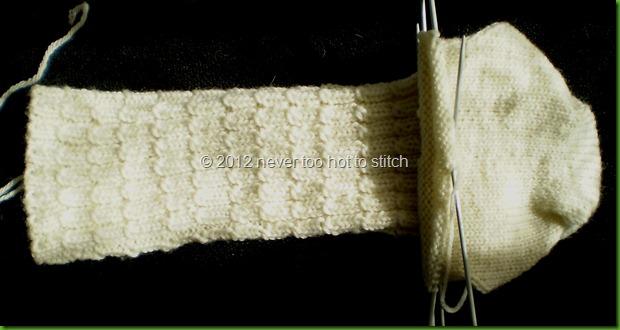 2012 mum's baby cable rib socks