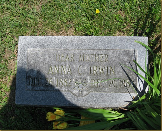 Dear Mother Anna Clara (Hitch) Irwin