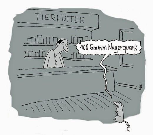 Nagerquark Cartoon von Lo Graf von Blickensdorf