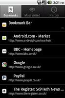Screenshot of CMarks <no longer active>