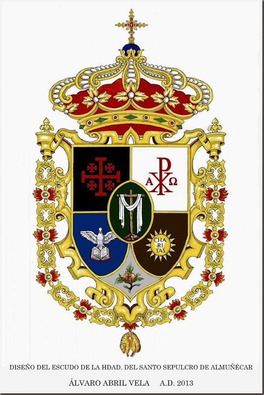 escudo sepulcro ALMUÑECAR  final color alvaro abril