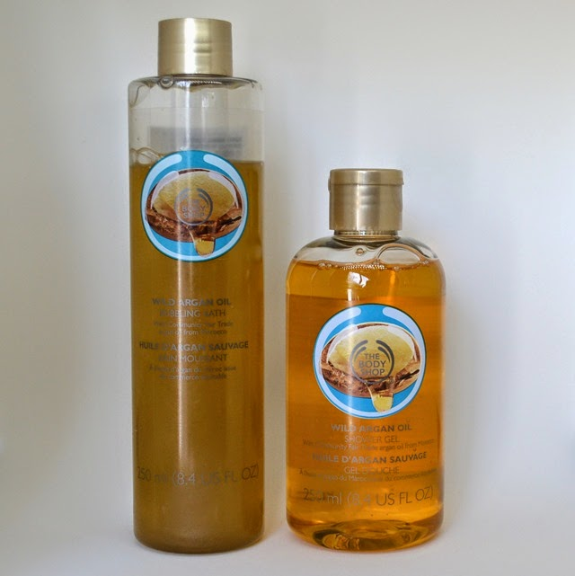 The Body Shop Wild Argan Oil Bubbling Bath and Shower Gel