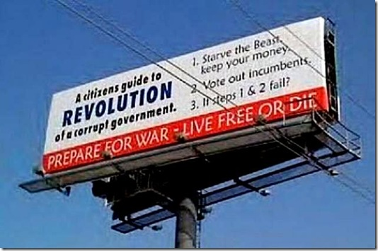 Billboard- Citizen Guide to Revolution