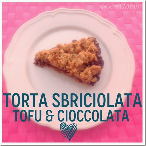torta tofu ricotta e cioccolato