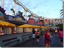 Disneyland 10K Paradise Pier Area