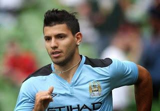 Manchester City striker Aguero