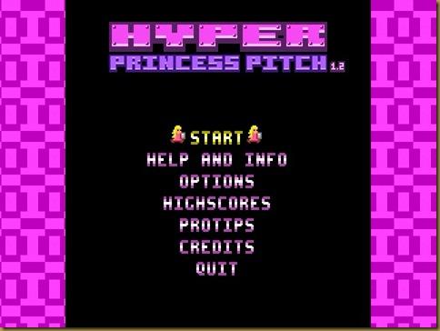 Hyper Princess Pitch タイトル