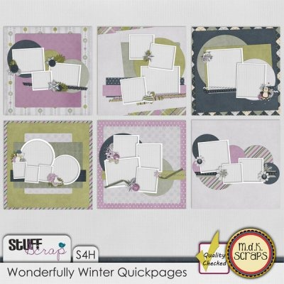 Wonderfully Winter Quickpages