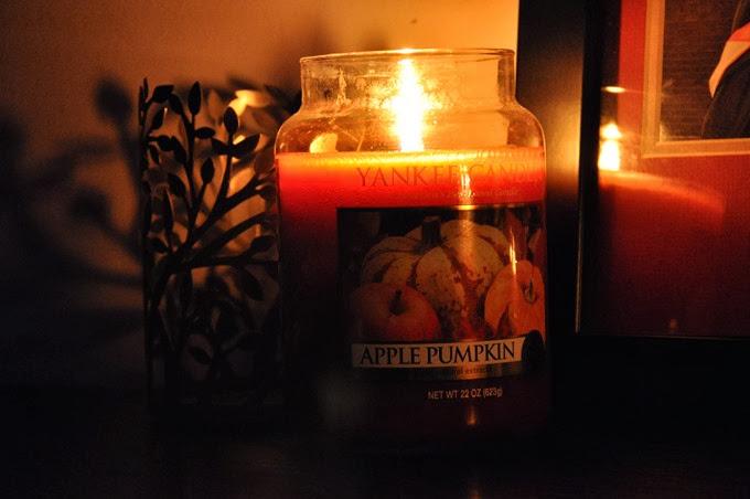yankee candle apple pumpkin