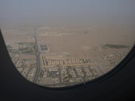 Zbor cu Qatar Airways: aterizare aeroport Doha