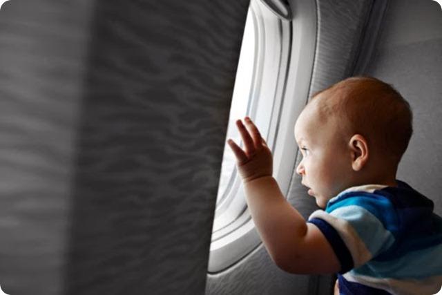 Viajar de avião com bebês -babette
