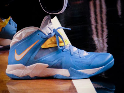 wearing brons nba soldier7 lawson nuggets 01 Ty Lawsons SOLDIER 7 Player Edition Denver Nuggets Nike IDs