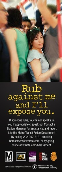 Metro harassment