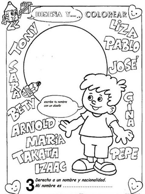 Dibujos día del niño para colorear - Manualidades Infantiles