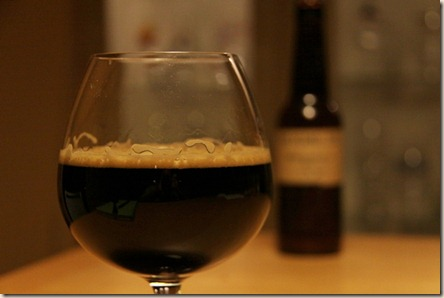 The Kernel brown imp stout snifter