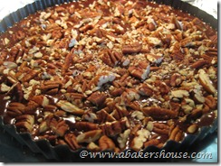 top batter with pecans