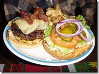 A Shack burger