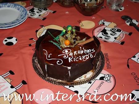 Primeiro bolo de aniversário