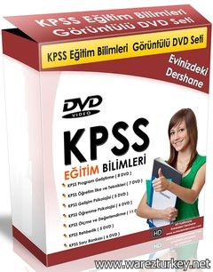 KPSS Eğitim Bilimleri Görüntülü DVD Seti Tek Link