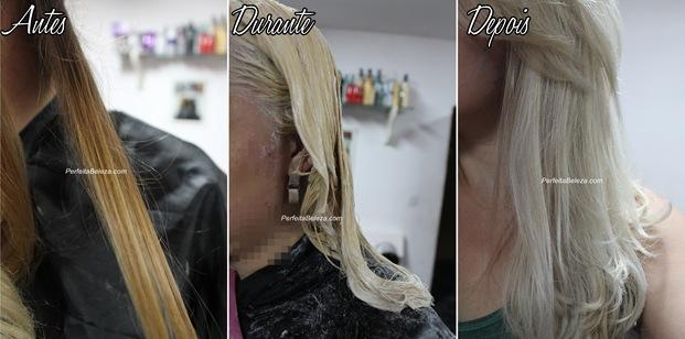 como platinar o cabelo