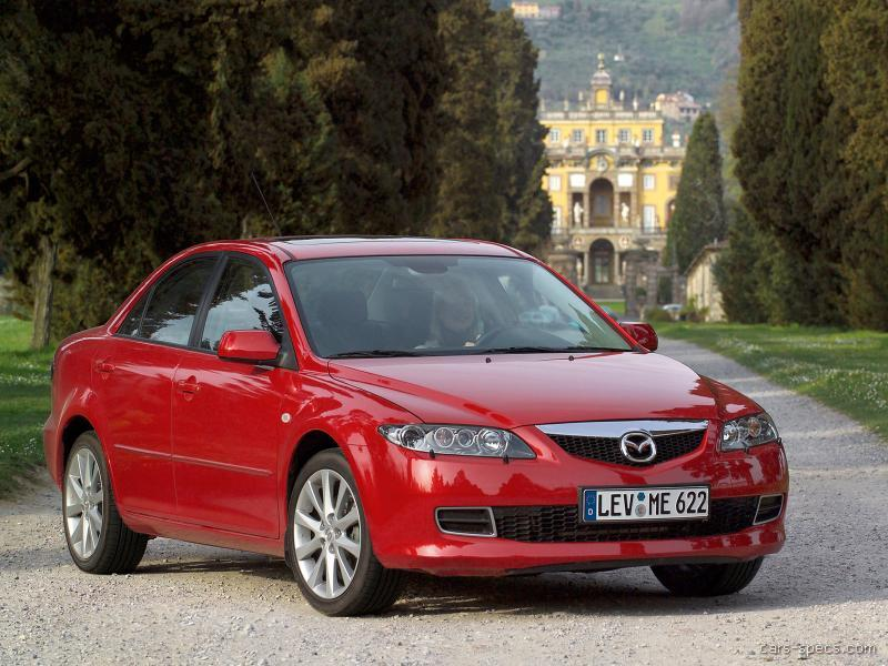 2006 mazda mazda6 sedan specifications pictures prices. Black Bedroom Furniture Sets. Home Design Ideas