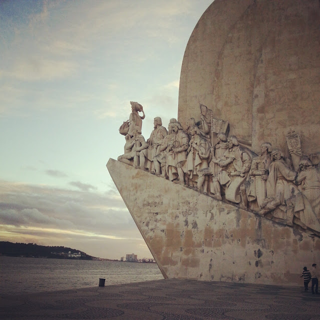 Discoveries Monument Lisbon Portugal