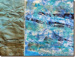 Sue Reno, In Dreams I Climbed The Cliffs, Work In Progress 2