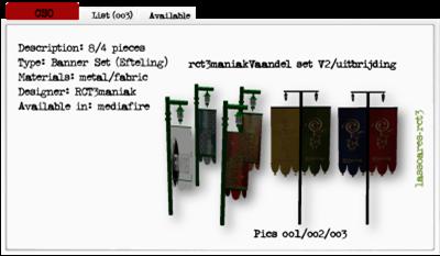 rct3maniakVaandel set V2 e uitbrijding (RCT3maniak) lassoares-rct3
