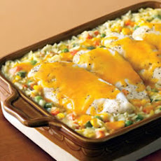 Campbell's® Cheesy Chicken and Rice Casserole