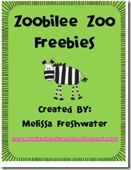 Zoo Freebies