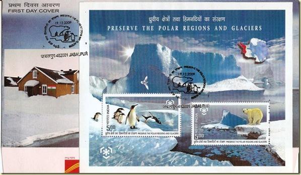 (80) 19 Dec.2009 Preserve the Polar Regions and Glaciers