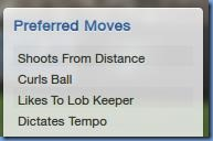 Preferred moves of Sigurdsson