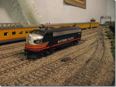 IMG_0490 Southern Pacific FP7 #6458 on My Layout on April 6, 2008