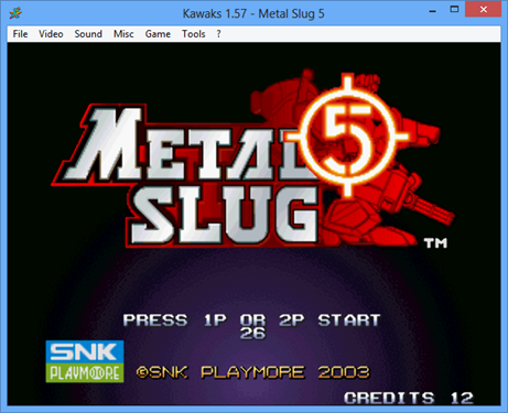 Free Download Metal Slug Anthology 1-2-X-3-4-5 WinKawaks Edition (English)